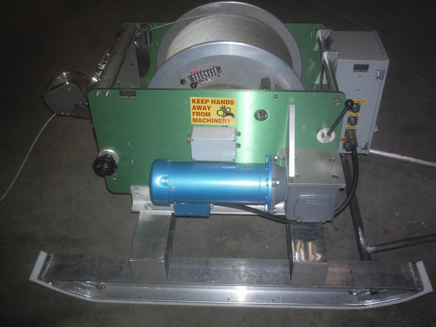 The Intermediate Depth Logging Winch for logging boreholes up to 1500-meters deep.