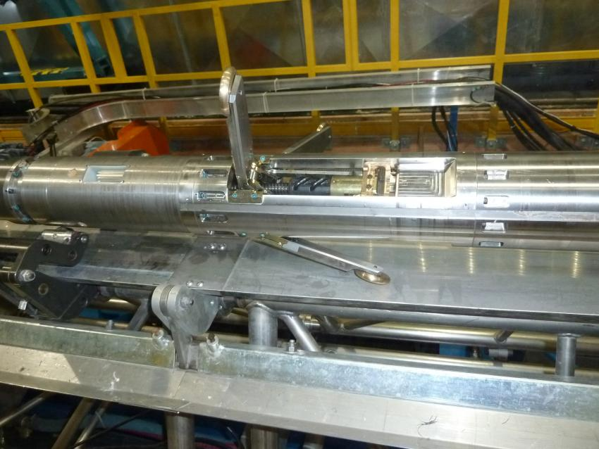 Replicate coring system actuator section