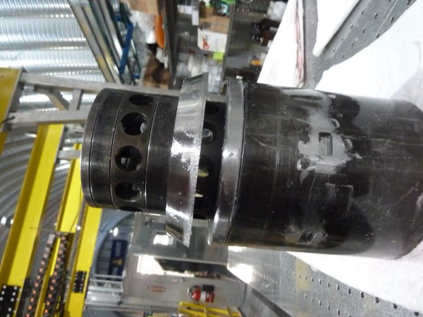 Replicate coring system broaching head
