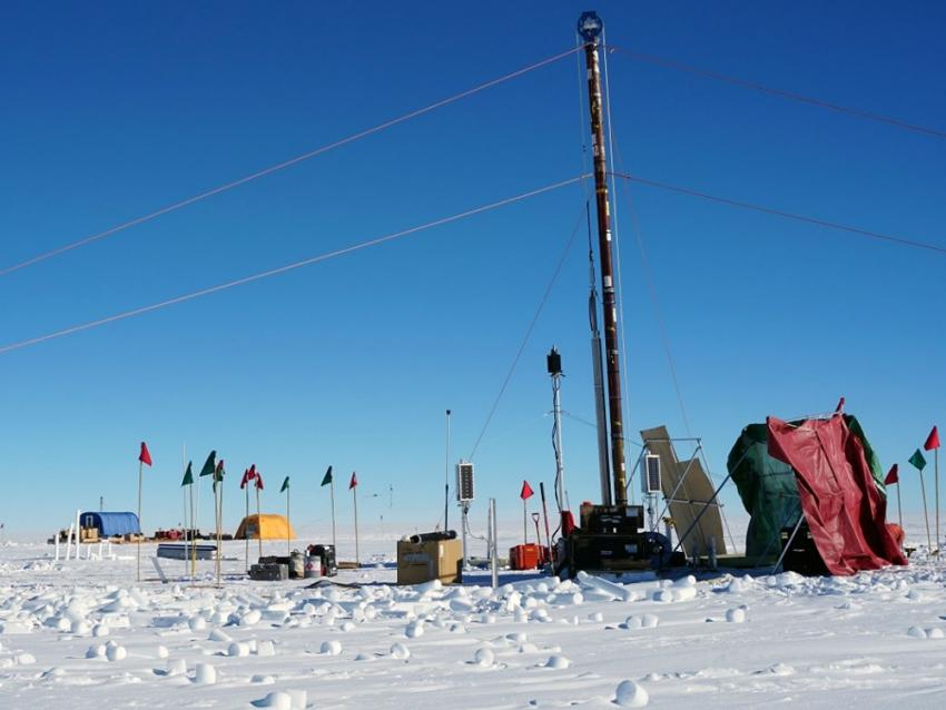 The IDDO 4-Inch Drill near South Pole Station