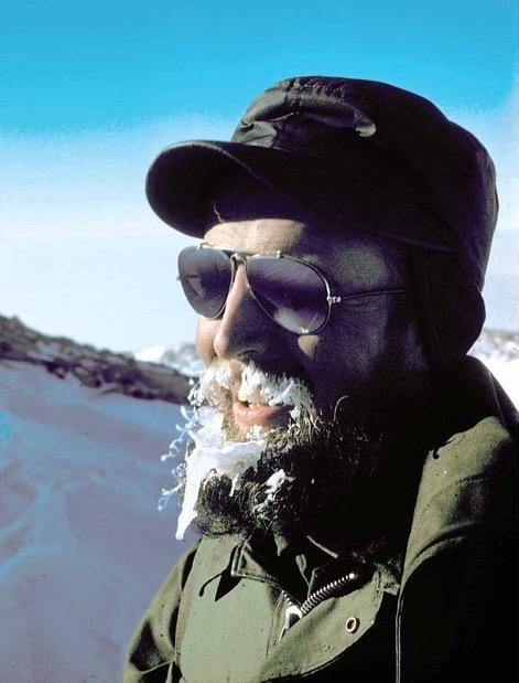 Glaciologist Charles Bentley was one of the first scientists to measure the West Antarctic Ice Sheet