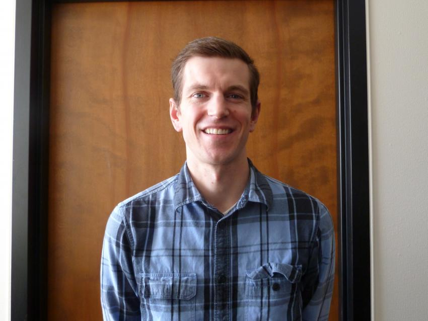 Kyle Zeug, IDDO's new Mechanical Engineer/Project Manager