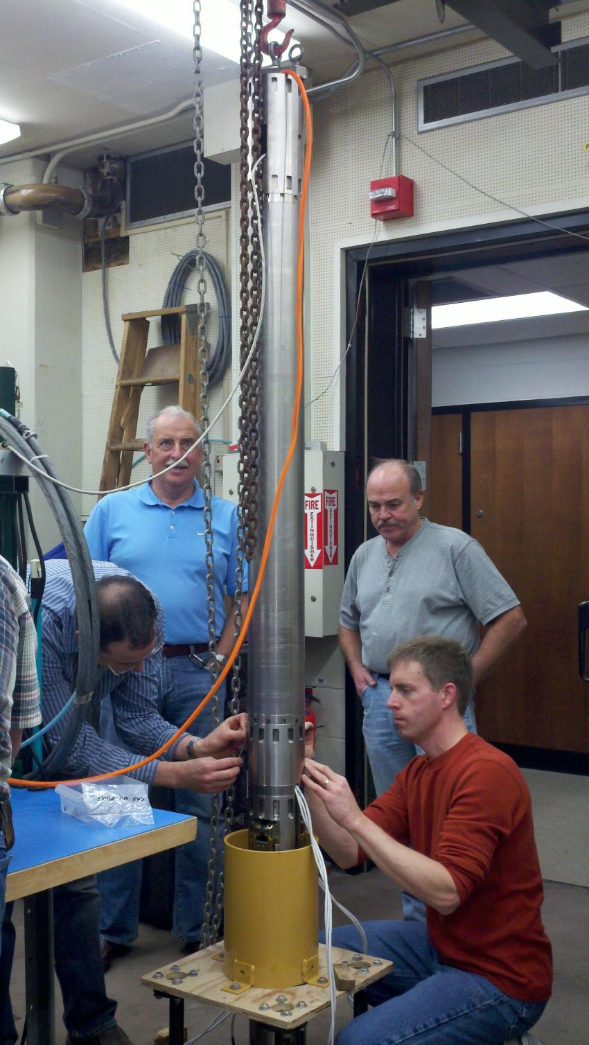 Testing of the Replicate Coring System in the lab
