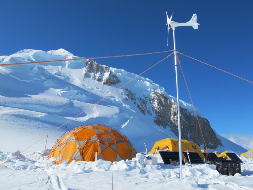 New solar and wind power system used for Badger-Eclipse drilling in Denali National Park
